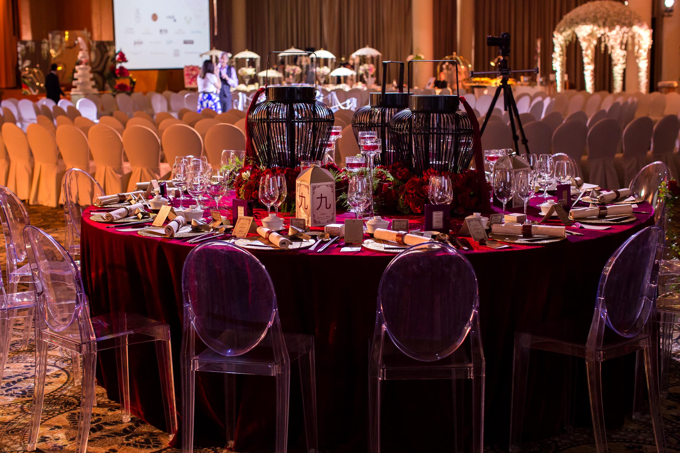 Ritz Carlton - Vintage Chic Wedding Showcase